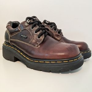 VTG Dr. Martens Dryden Brown 9272 Lace Up Oxford
